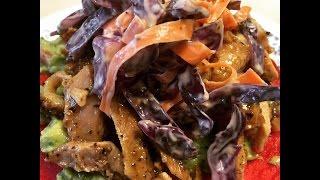 Spicy Chicken Tostada