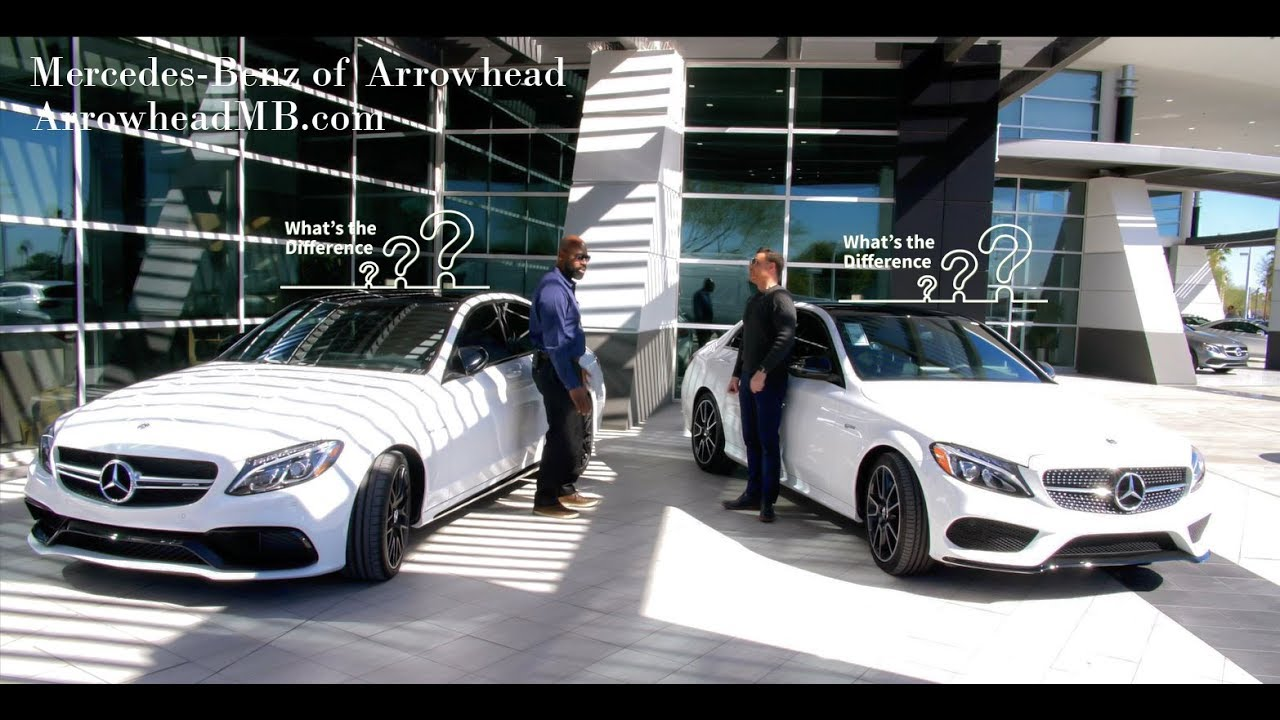 We Compare: The 2018 Mercedes-Benz C 43 AMG® and C 63 S ...