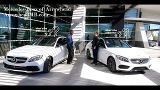 We Compare: The 2018 Mercedes-Benz C 43 AMG® and C 63 S AMG® from Mercedes Benz of Arrowhead