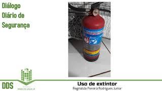 DDS: Uso de Extintor