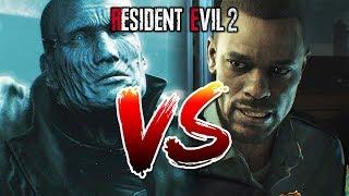 RESIDENT EVIL 2 REMAKE - MARVIN BRANAGH VS MR X, CAN MR X KILL MARVIN (MYTH BUSTING)