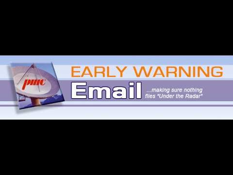 March 2017 Early Warning Email