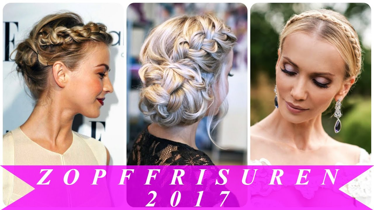 Zopf frisuren trends