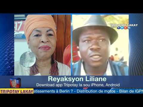 Liliane Pierre Paul ap kase met nan men Diaspora Chili yo k'ap mache santi fò sou moun