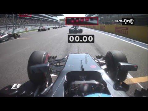 Fernando Alonso Amazing race Start Sotchi 2016