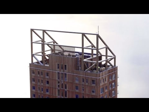 Wooden high-rise trend reaches new heights in Norway