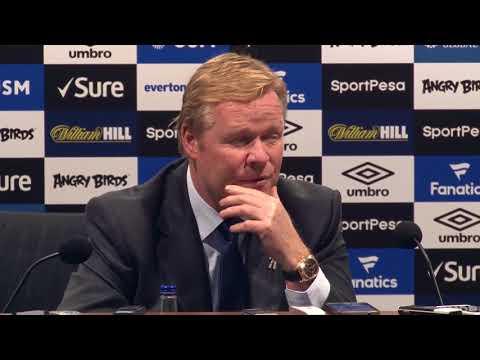 Koeman: I'm the right man to lead Everton forward