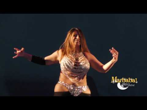 Aziza Cairo, Egyptian belly dancer, for Marhaba Rome Festival 10