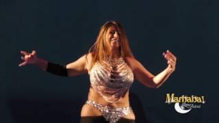 Aziza Cairo, Egyptian belly dancer, for Marhaba Rome Festival 10