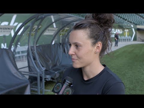 Thorns FC Training | Parsons, Raso and Horan preview Kansas City
