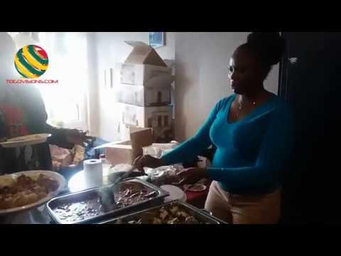 Buffet solidaire à Liège en faveur des victimes du Togo