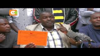 Aladwa claims Ndolo is in possession of a forged ODM certificate