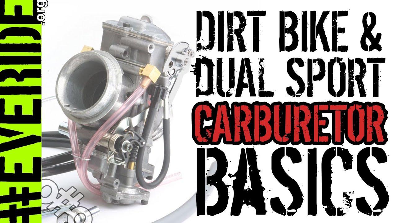 motorcycle carburetor basics easy tips to fix your dirt bike o o [ 1280 x 720 Pixel ]