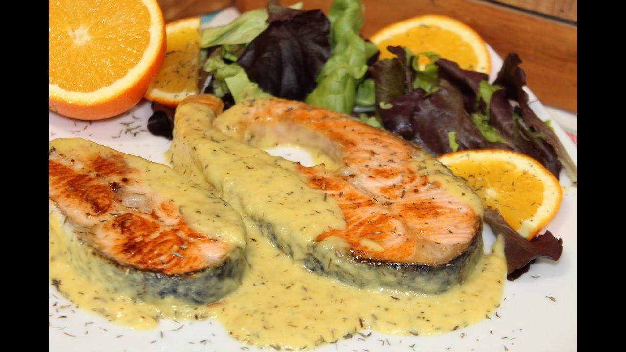 Naranja salmon salsa receta