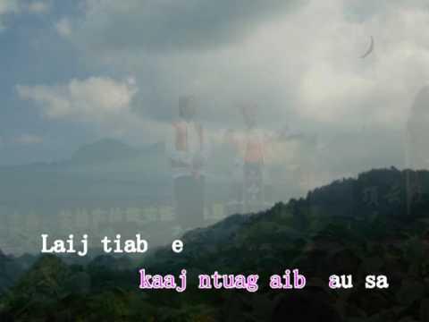 Chinese Hmong song: hmoob` luab` neej(苗族生活)