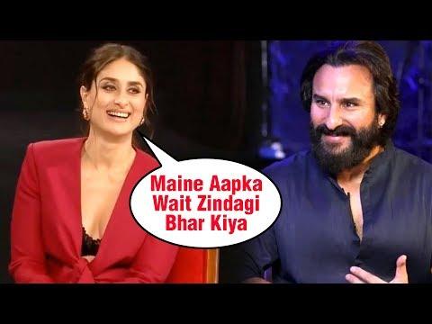 Kareena Kapoor REVEALS Interesting FACTS About Saif Ali Khan   Birthday SPECIAL