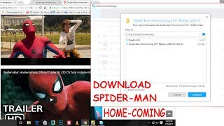 How to download Spider man home coming in Hd!100%working