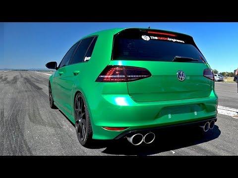 VW GOLF 7 R TTE525R Turbocharger - LOUD ACCELERATIONS!