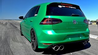 VW GOLF 7 R TTE525R Turbocharger - LOUD ACCELERATIONS!