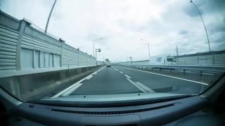【車載動画】名二環甚目寺南IC~山田東IC~エアポートウォーク名古屋【倍速】