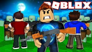 I AM THE ONLY ONE WHO CAN SURVIVE THE ZOMBIES OF ROBLOX !!