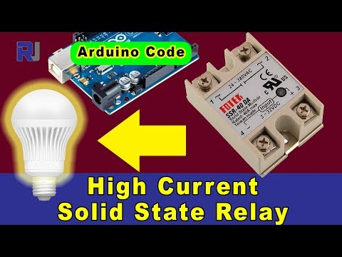 How to use Fotek SSR-40 Solid State Relay with Arduino and without Arduino