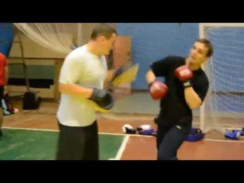 Рукопашный бой. Клуб ГЕРМЕС. Тренировка  (часть 7)