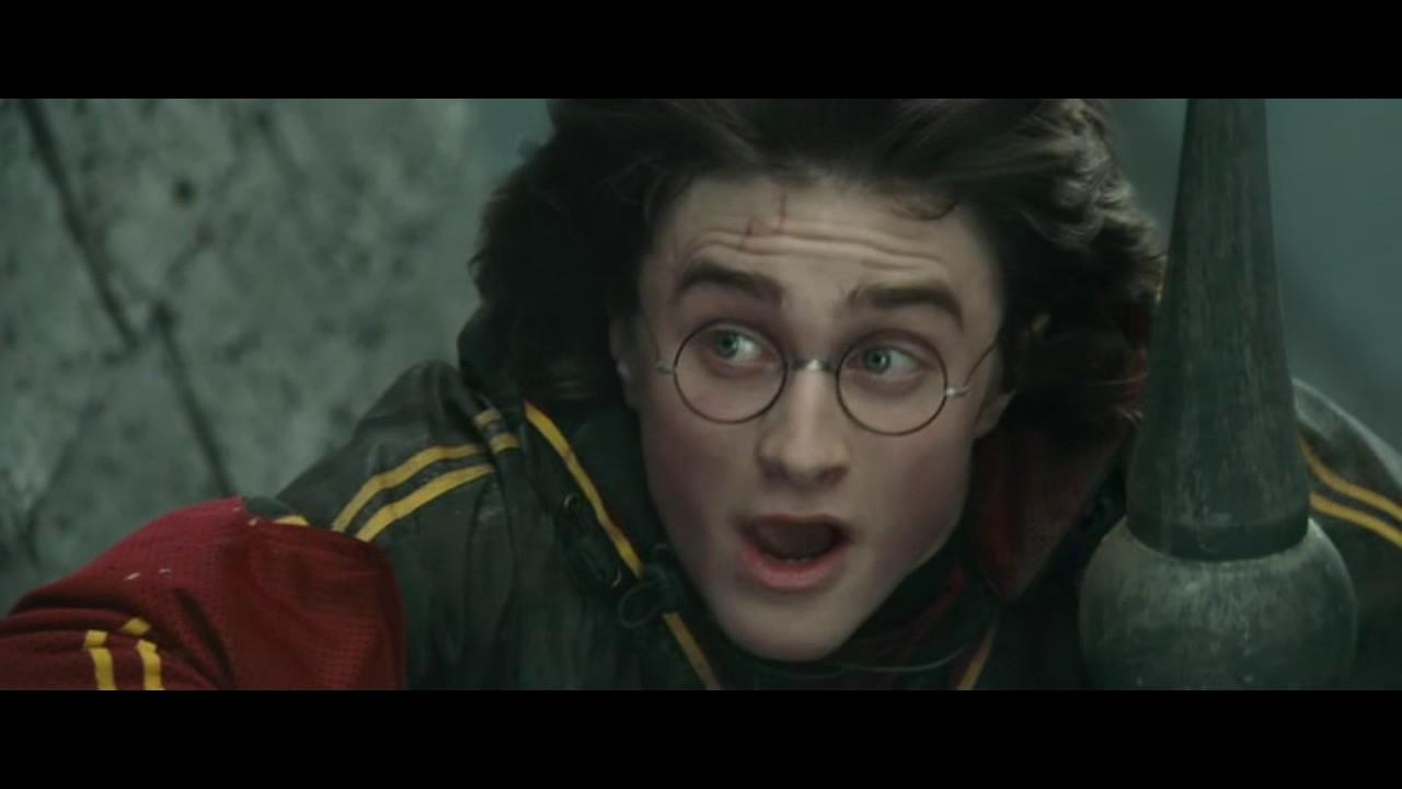 Гарри Поттер и Кубок огня. Первое испытание - YouTube