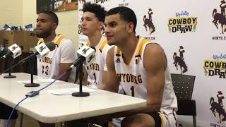 Wyoming's Justin James, Trace Young, Jordan Naughton talk Boise State loss, offensive struggles