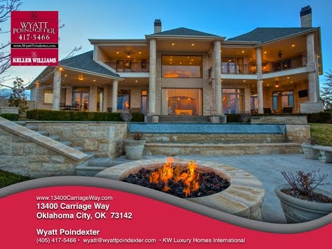 13400 Carriage Way Luxury Home Oklahoma Wyatt Poindexter Keller Williams Elite
