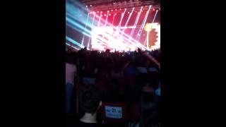 130809 小鬼黃鴻升新城音樂會演唱不屑 (副歌part)