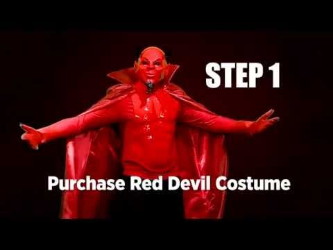 How to make an authentic-looking Red Devil costume for under $100