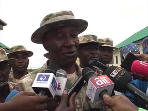 Nigerian Army Court Martial Officers