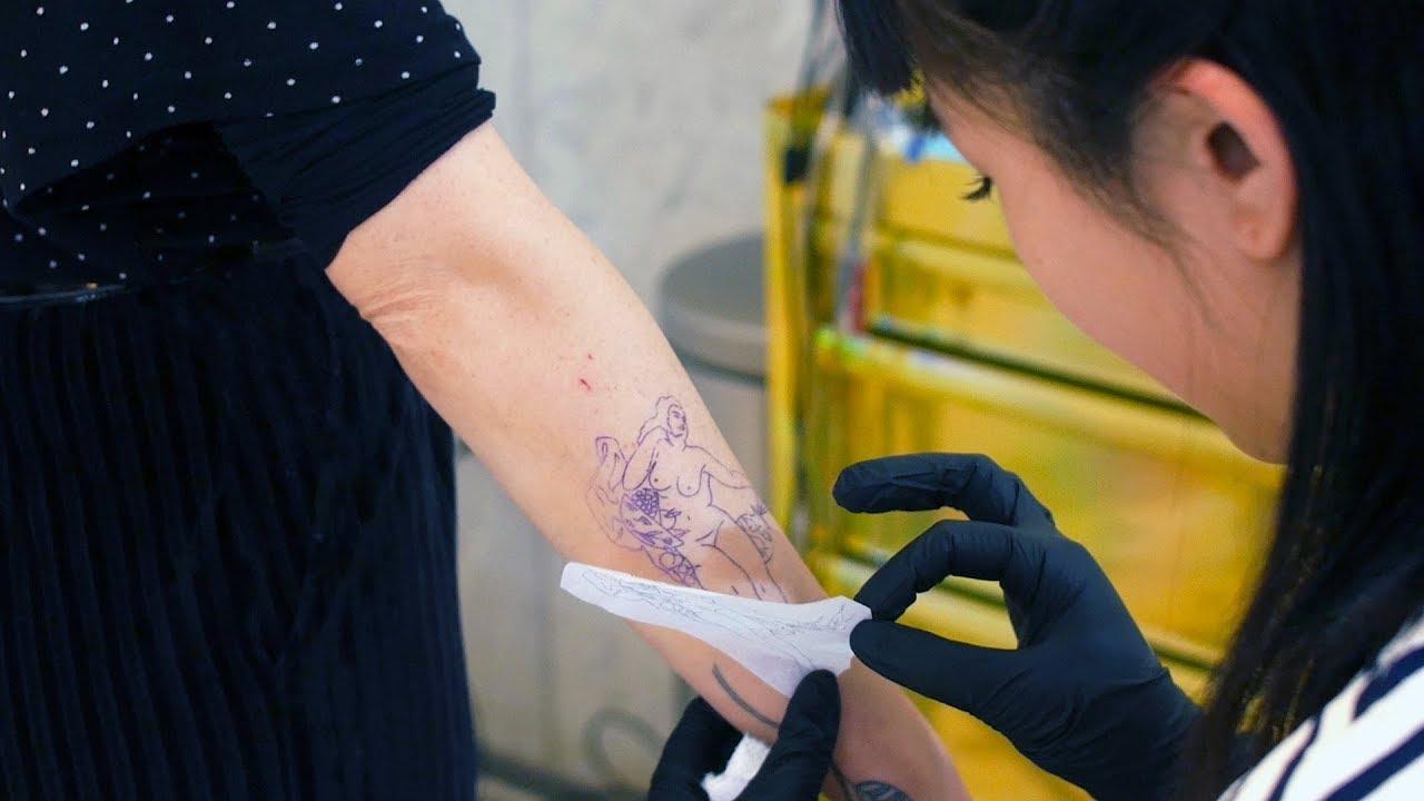 Art Hurts Tattoos Have Always Been A Rebellion For Liz Kim Episode 2
