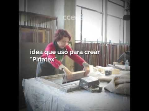 CUERO SINTÉTICO CON FIBRA DE PIÑA