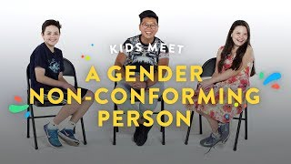 Kids Meet a Gender NonConforming Person | Kids Meet | HiHo Kids