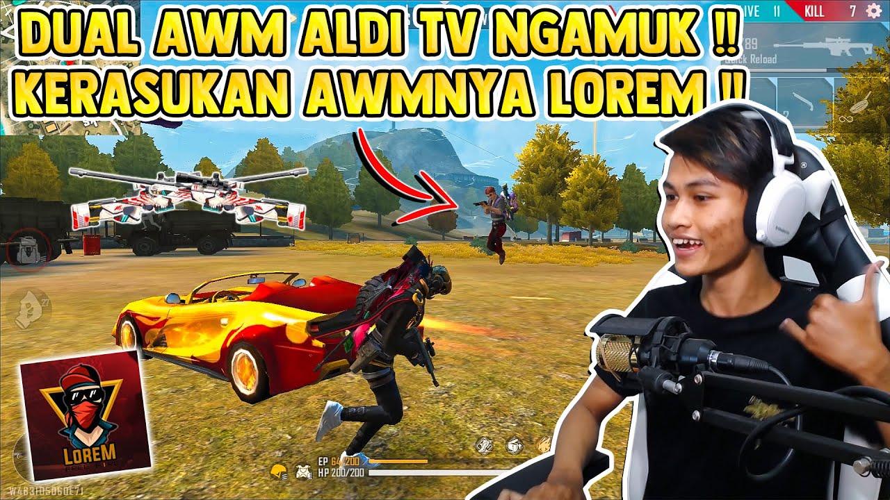 DUAL AWM ALDI TV NGAMUK KERASUKAN LOREM !! SEREM CUY !!