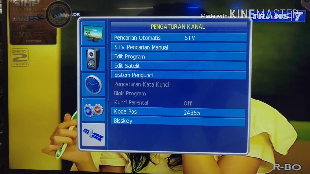 Cara mendapatkan kode tv,tv polytron terbaru dengan digital receiver hd