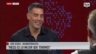 Luis Novaresio  con Luis Scola- LNE - Programa completo (08/08/19)