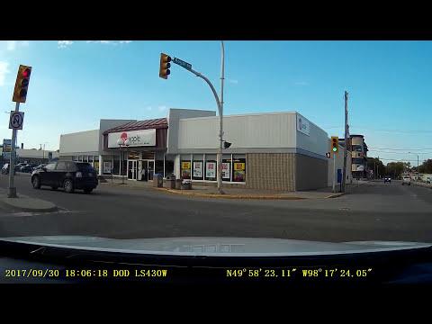 Portage 9th to Crescent to 1A, Manitoba 2017