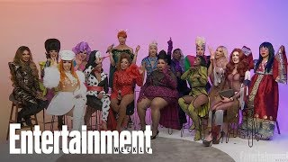 'RuPaul's Drag Race' Season 11 Queens Read Photos Of Their First Time In Drag | Entertainment Weekly