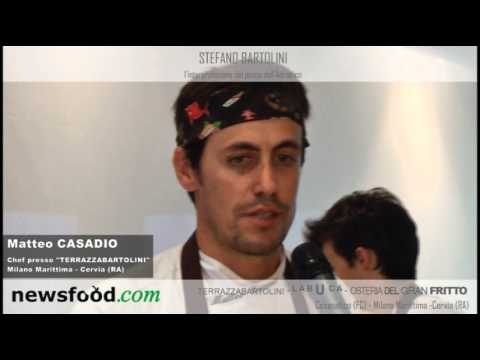 Matteo Casadio Chef Terrazza Bartolini Milano Marittima Riviera Adriatica  YouTube