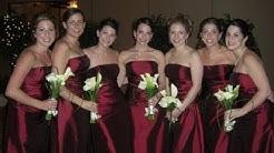 Wine Colored Bridesmaid Dresses
