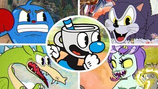 Cuphead - All Bosses with Mugman