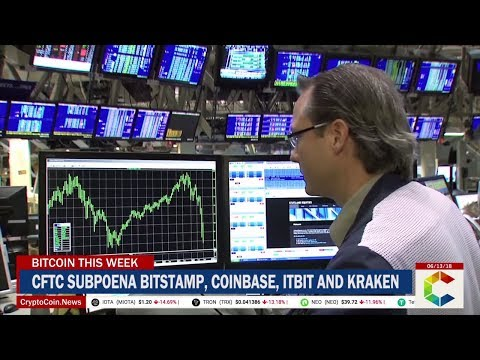 Bitcoin This week: CFTC Subpoenas Major Crypto Exchanges, Coinrail Hacked, Bitcoin Prices And More