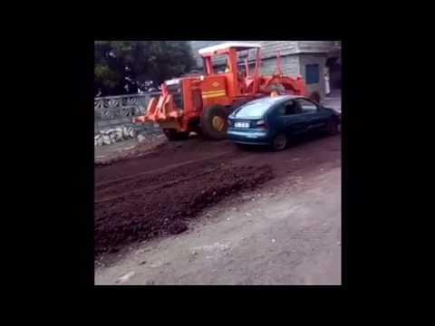 Réfection de la route nationale Hahaya -Moroni