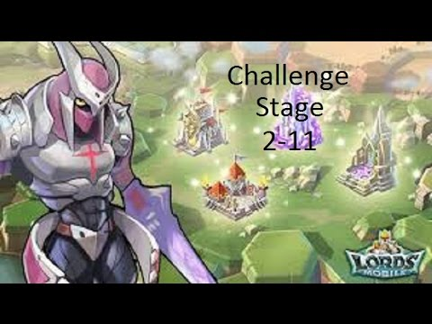 Lords Mobile: Challenge Stage 2-11