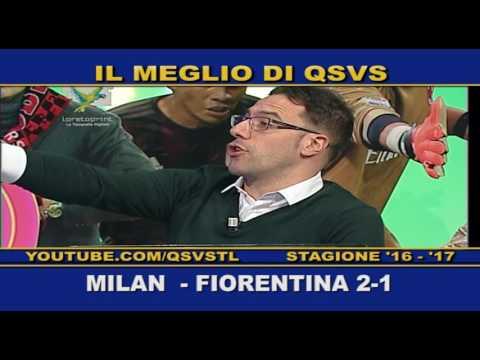 QSVS - I GOL DI MILAN - FIORENTINA 2-1 TELELOMBARDIA / TOP CALCIO 24