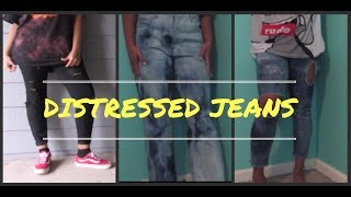 Karismariel Chapter 32| DIY Distressed Jeans ❤