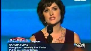 Sandra Fluke Remarks at 2012 Democratic National Convention
